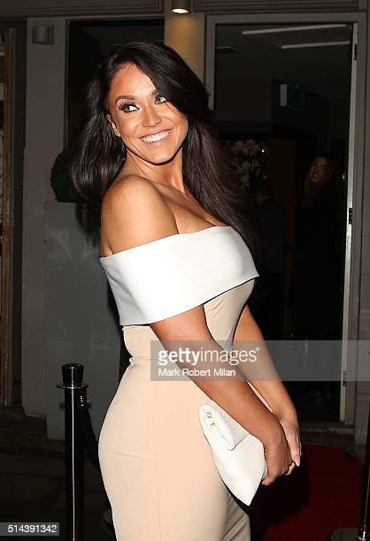 Vicky Pattison attending Jake Quickenden's EP launch at Jewel bar on March 8 2016 in London England