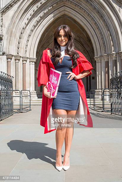 Vicky Pattison attends a photocall to launch MTV's 'Judge Geordie' at the Royal Courts of Justice Strand on May 13 2015 in London England