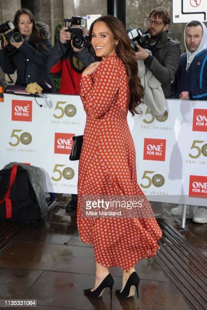 Vicky Pattison attends the 2019 'TRIC Awards' held at The Grosvenor House Hotel on March 12 2019 in London England
