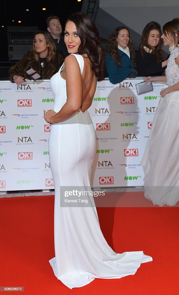 Vicky Pattison attends the 21st National Television Awards at The O2 Arena on January 20, 2016 in London, England.