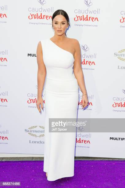 Vicky Pattison attends the Caudwell Children Butterfly Ball at Grosvenor House on May 25 2017 in London England