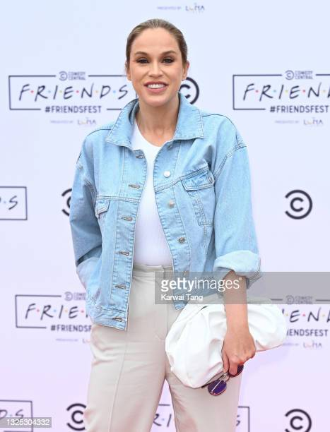 Vicky Pattison attends the Comedy Central's FriendsFest: London Photocall at Clapham Common on June 24, 2021 in London, England.