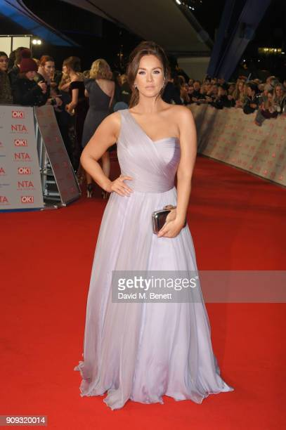 Vicky Pattison attends the National Television Awards 2018 at The O2 Arena on January 23 2018 in London England