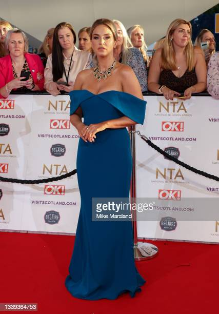 Vicky Pattison attends the National Television Awards 2021 at The O2 Arena on September 09, 2021 in London, England.