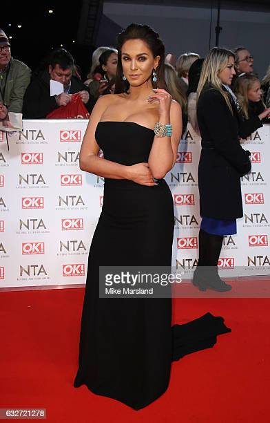 Vicky Pattison attends the National Television Awards at The O2 Arena on January 25 2017 in London England