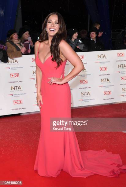 Vicky Pattison attends the National Television Awards held at The O2 Arena on January 22 2019 in London England