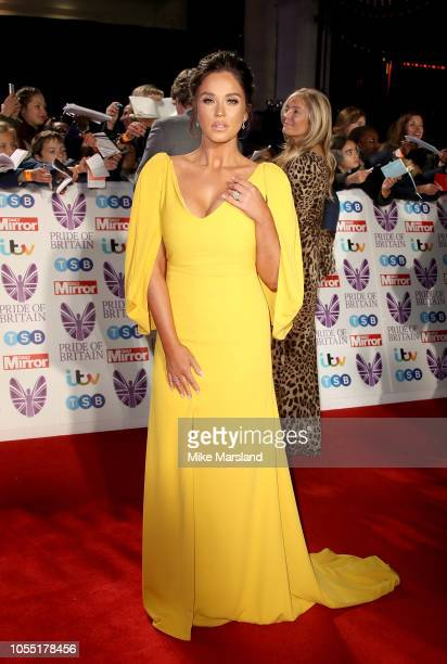 Vicky Pattison attends the Pride of Britain Awards 2018 at The Grosvenor House Hotel on October 29 2018 in London England