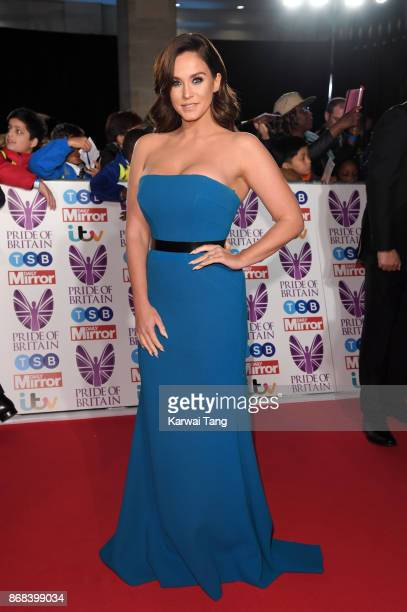 Vicky Pattison attends the Pride Of Britain Awards at the Grosvenor House on October 30 2017 in London England