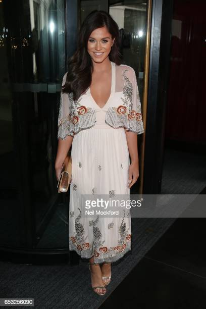 Vicky Pattison attends the TRIC Awards 2017 on March 14 2017 in London United Kingdom
