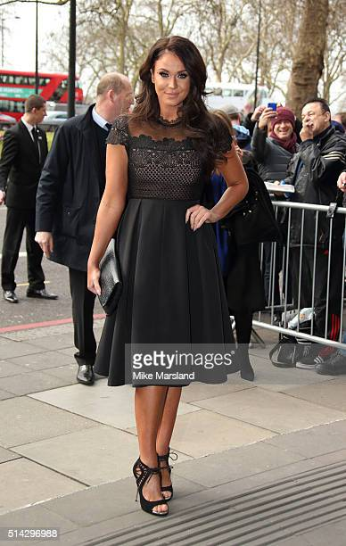 Vicky Pattison attends the TRIC Awards at Grosvenor House Hotel at The Grosvenor House Hotel on March 8, 2016 in London, England.
