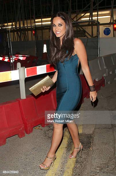 Vicky Pattison leaving Dirty Martini on August 18 2015 in London England