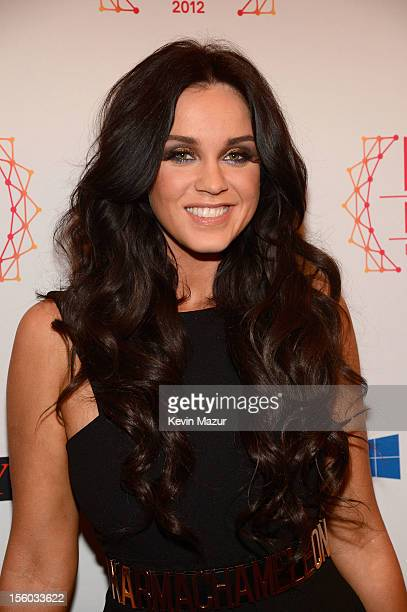 Vicky Pattison of Geordie Shore attends the MTV EMA's 2012 at Festhalle Frankfurt on November 11 2012 in Frankfurt am Main Germany