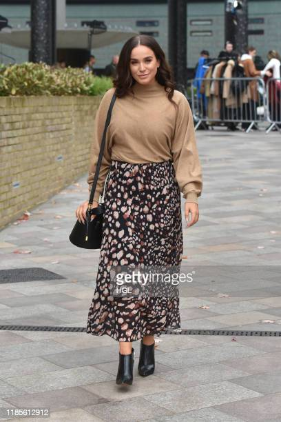 Vicky Pattison seen at the ITV Studios on November 05 2019 in London England