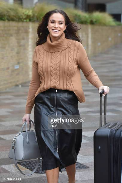 Vicky Pattison seen outside the ITV Studios on December 03 2018 in London England