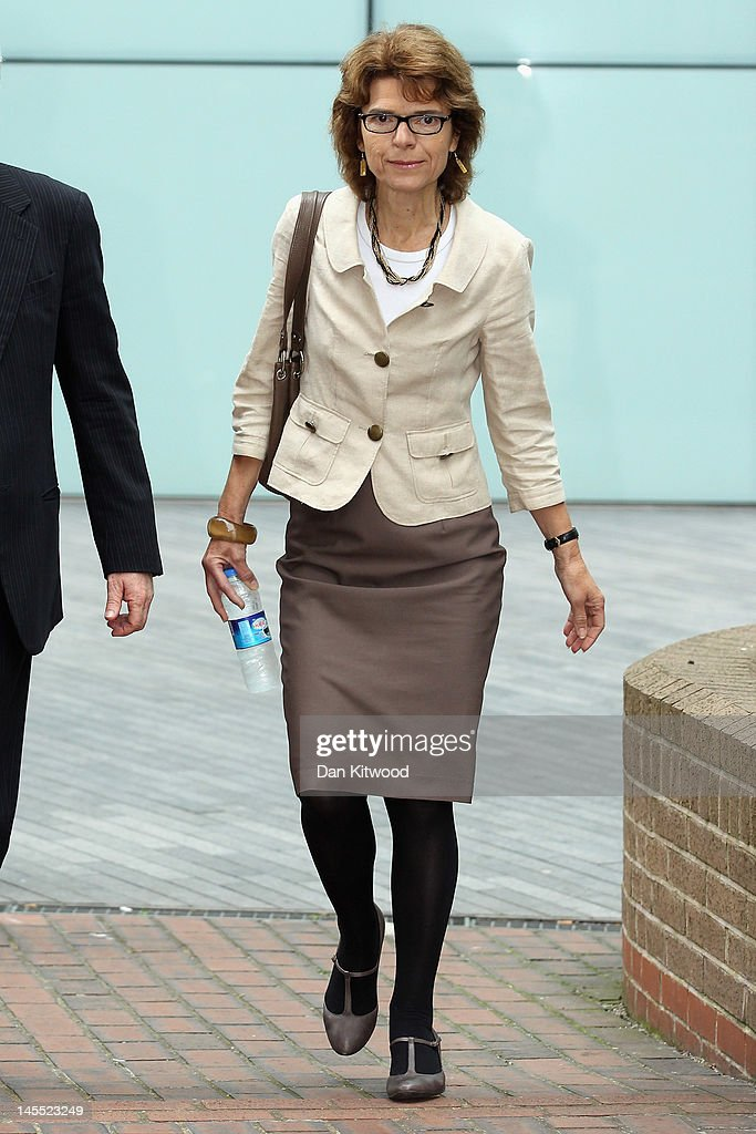 Chris Huhne And Vicky Pryce Appear In Court Charged With Perverting The Course Of Justice : News Photo