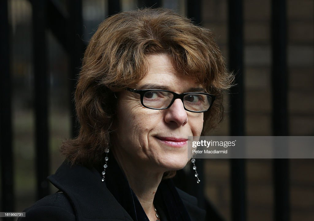 Vicky Pryce, ex-wife of Chris Huhne, arrives at Southwark Crown Court on February 18, 2013 in London, England. Former Cabinet member Chris Huhne has pleaded guilty to perverting the course of justice over claims his ex-wife took speeding points for him in 2003. Ms Pryce, 60, has pleaded not guilty to the same offence on grounds of marital coercion