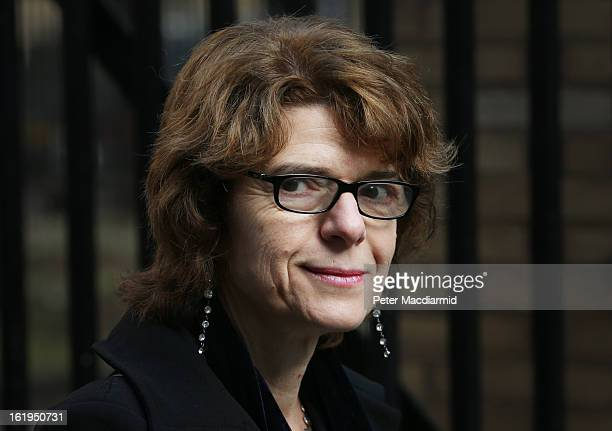 Vicky Pryce exwife of Chris Huhne arrives at Southwark Crown Court on February 18 2013 in London England Former Cabinet member Chris Huhne has...
