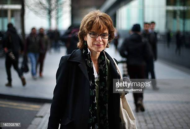 Vicky Pryce exwife of Chris Huhne leaves Southwark Crown Court on February 20 2013 in London England Former Cabinet member Chris Huhne has pleaded...