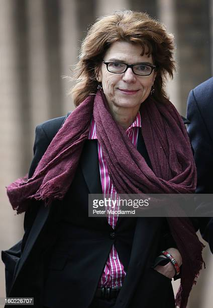 Vicky Pryce exwife of Chris Huhne leaves Southwark Crown Court on January 28 2013 in London England Former Cabinet minister Chris Huhne and his...