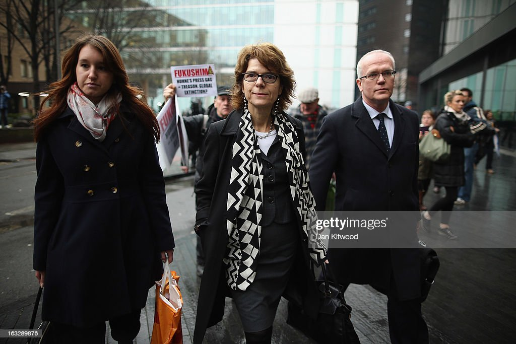 The Jury Considers Its Verdict In The Retrial Of Vicky Pryce : News Photo