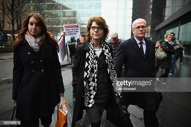Vicky Pryce exwife of Chris Huhne leaves Southwark Crown Court on March 7 2013 in London England Former Cabinet member Chris Huhne has pleaded guilty...