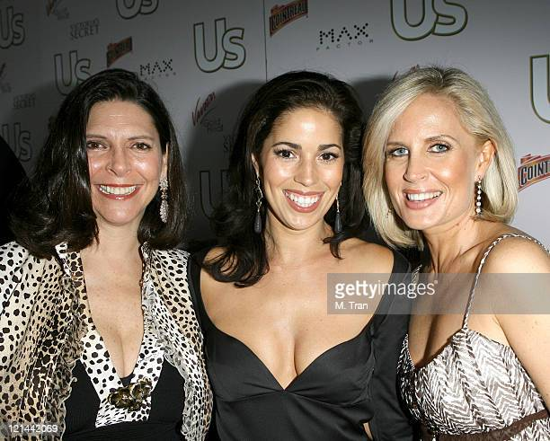 Vicky Rose US Weekly Publisher Ana Ortiz and guest