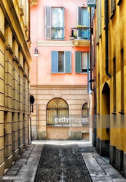 Vicolo Ciovasso is an alley in Brera, Old Milano.