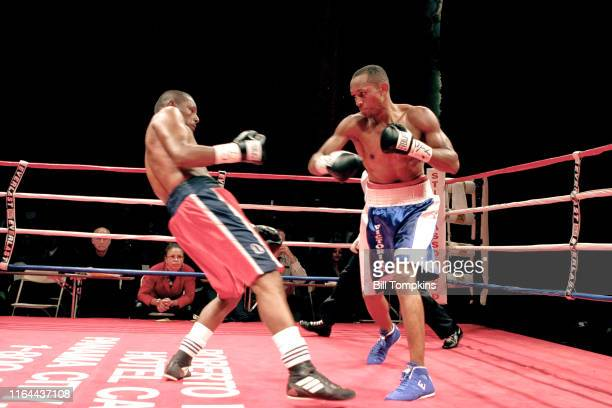 Vicoriano Sosa defeats Francisco Campos by TKO in the 10th round in their Super Lightweight fight at BOXEO CALIENTE , a boxing and Reggaeton event at...