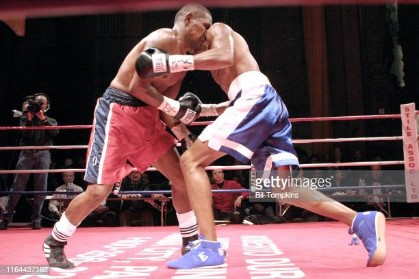 Vicoriano Sosa defeats Francisco Campos by TKO in the 10th round in their Super Lightweight fight at BOXEO CALIENTE a boxing and Reggaeton event at...
