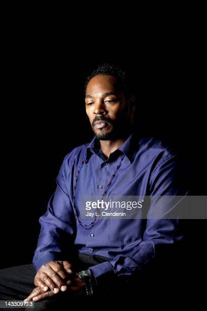 Victim in a police brutality Rodney King is photographed for Los Angeles Times on March 14, 2012 in Los Angeles, California. CREDIT MUST READ: Jay L....