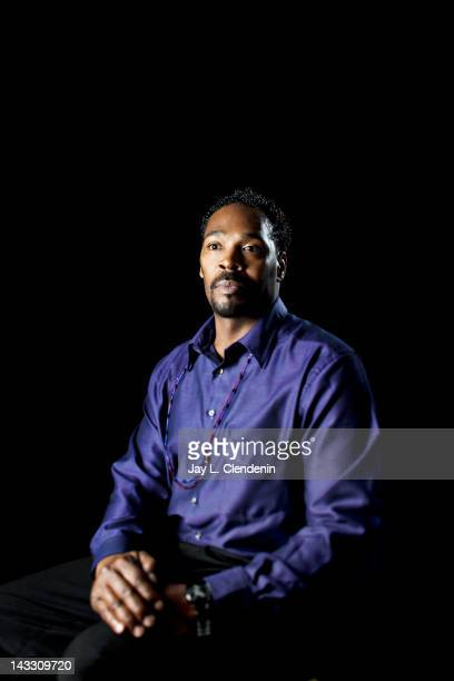 A victim in a police brutality Rodney King is photographed for Los Angeles Times on March 14 2012 in Los Angeles California CREDIT MUST READ Jay L...