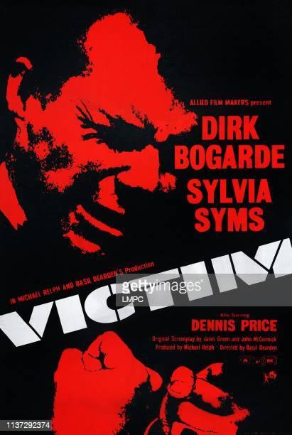 Victim poster British poster art Dirk Bogarde 1961