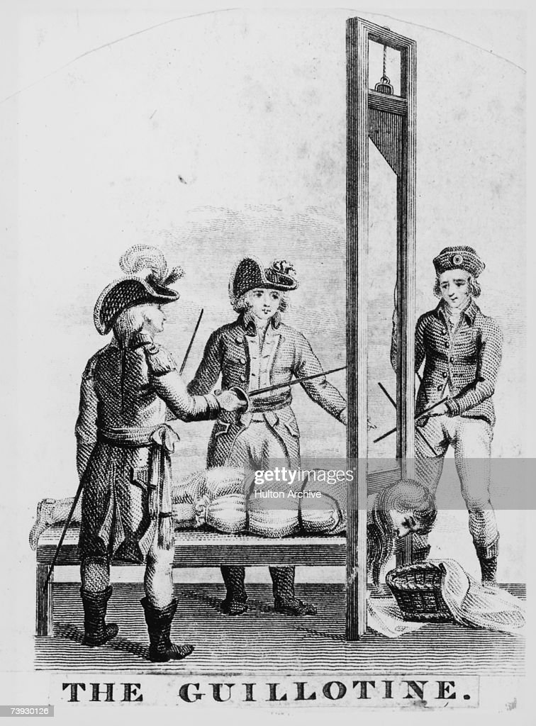 The Guillotine : News Photo