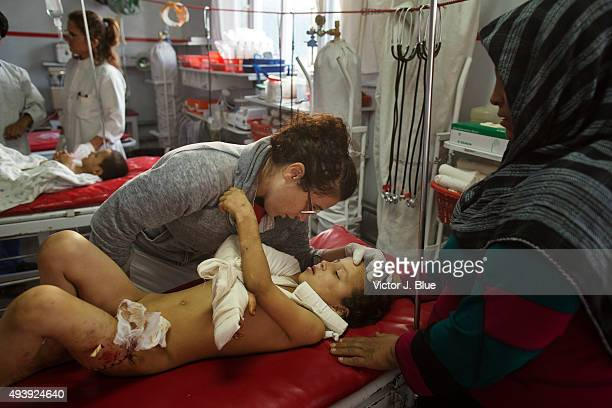 Victims From Kunduz Hospital Attack Treated in Kabul