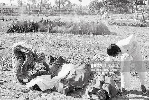Victims of Bhopal Gas Tragedy
