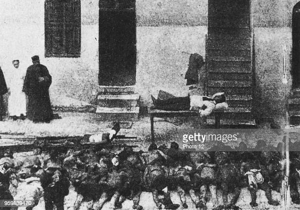 Victims of one of the numerous massacres in Armenia 1915