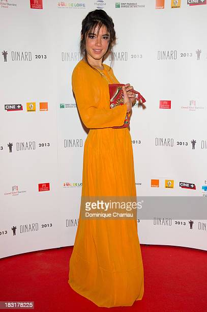 Victoire Belezy attends the Dinard British film festival closing ceremony on October 5 2013 in Dinard France