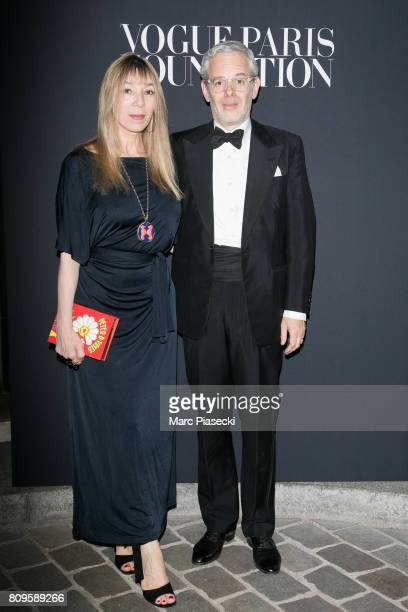 Victoire de Castellane and Thomas lenthal attend Vogue Foundation Dinner during Paris Fashion Week as part of Haute Couture Fall/Winter 20172018 at...