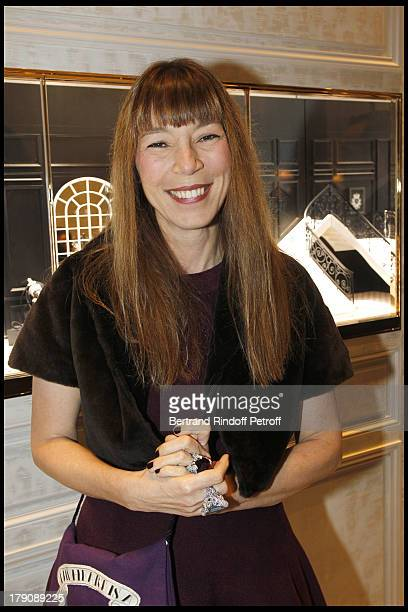 Victoire De Castellane at The Dior Jewellry Boutique Party at Place Vendome In Paris