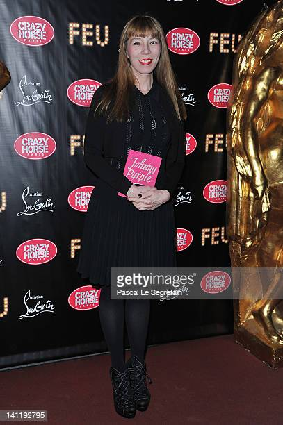 Victoire De Castellane attends 'Feu' Directed By Christian Louboutin VIP Premiere at Le Crazy Horse on March 12 2012 in Paris France