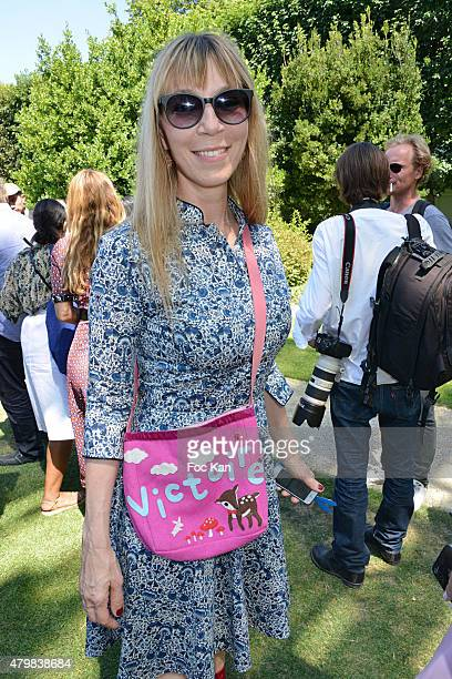 Victoire de Castellane attends the Christian Dior show as part of Paris Fashion Week Haute Couture Fall/Winter 2015/2016 on July 6 2015 in Paris...