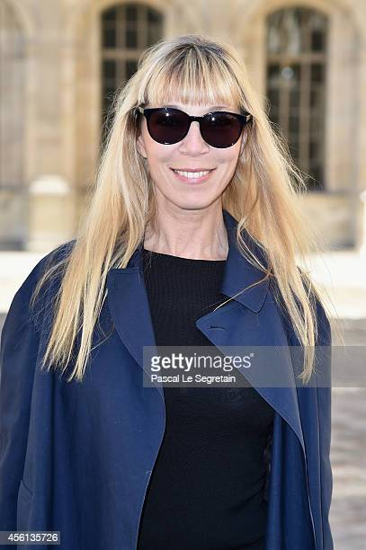 Victoire de Castellane attends the Christian Dior show as part of the Paris Fashion Week Womenswear Spring/Summer 2015 on September 26 2014 in Paris...