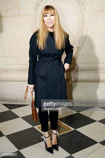 Victoire de Castellane attends the Christian Dior show as part of the Paris Fashion Week Womenswear Fall/Winter 20142015 on February 28 2014 in Paris...