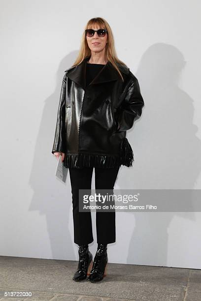 Victoire de Castellane attends the Christian Dior show as part of the Paris Fashion Week Womenswear Fall/Winter 2016/2017 on March 4 2016 in Paris...