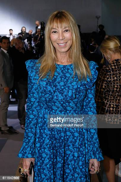 Victoire de Castellane attends the Christian Dior show as part of the Paris Fashion Week Womenswear Spring/Summer 2017 on September 30 2016 in Paris...