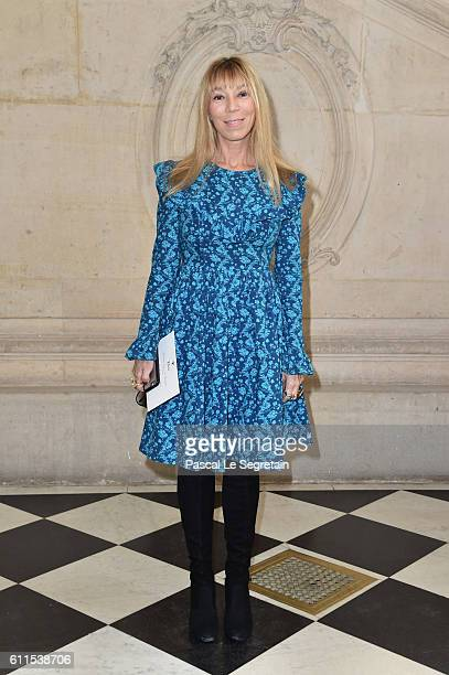 Victoire de Castellane attends the Christian Dior show of the Paris Fashion Week Womenswear Spring/Summer 2017 on September 30 2016 in Paris France