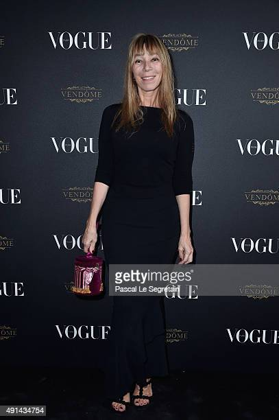 Victoire de Castellane attends the Vogue 95th Anniversary Party on October 3 2015 in Paris France