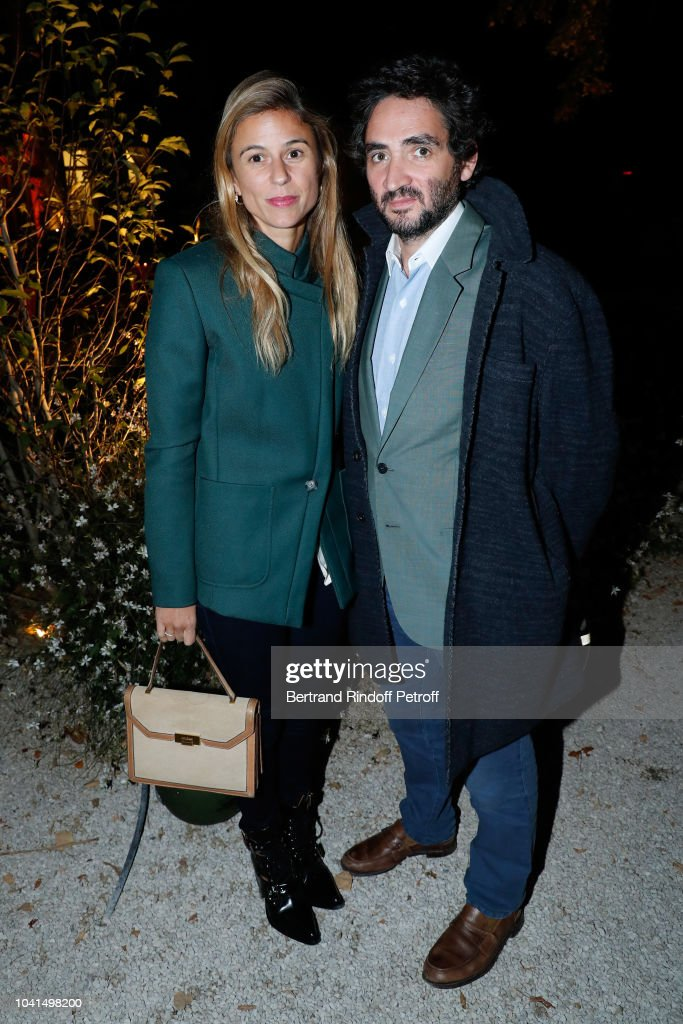 victoire de pourtales and her husband benjamin eymere attend the