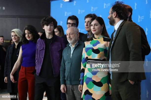 Victoire du Bois Esther Garrel Timothee Chalamet producer Rodrigo Teixeira writer Andre Aciman producer Peter Spears actors Amira Casar Armie Hammer...