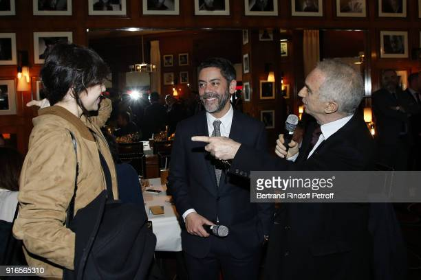 Victoires de la Musique Female Artist of the Year 2018 Charlotte Gainsbourg Actor and Master of Ceremonies for the 43rd Cesar Ceremony Manu Payet and...